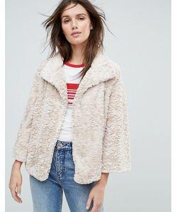 Jayley | Укороченная Куртка С Искусственным Мехом