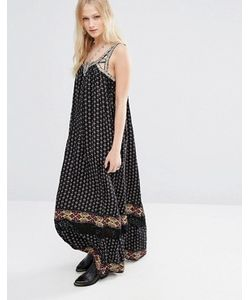 Hazel | Платье Макси В Стиле Бохо С Принтом