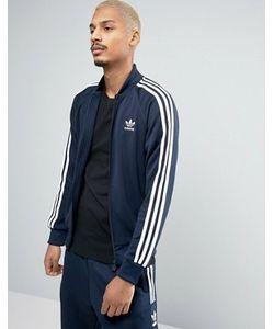 adidas Originals | Синяя Спортивная Куртка Superstar Bk5919