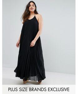 Missguided Plus | Плиссированное Платье Макси