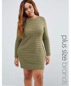 Boohoo Plus | Платье-Джемпер