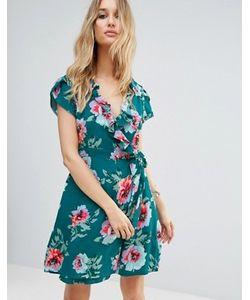 Somedays Lovin | Платье С Запахом И Цветочным Принтом