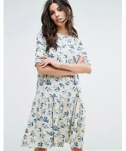 Y.A.S. | Платье С Принтом Листьев Y.A.S
