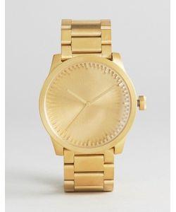 LEFF AMSTERDAM | Золотистые Часы S-Series 42 Мм