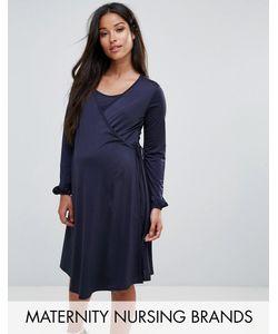 Bluebelle Maternity | Платье Для Кормления С Запахом Bluebelle