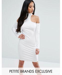 NaaNaa Petite   Облегающее Платье С Открытыми Плечами