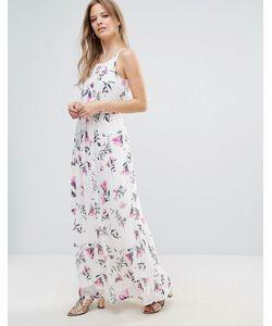 Vero Moda | Платье Макси С Цветочным Принтом На Тонких Бретельках
