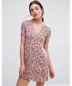 New Lily | Летнее Платье С Цветочным Принтом Newlily