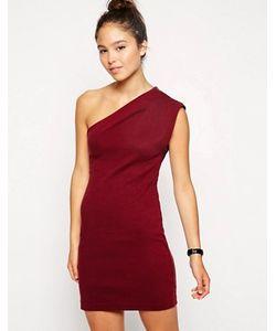 American Apparel | Асимметричное Платье Interlock