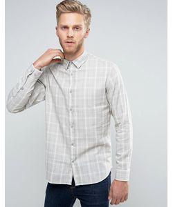 Selected Homme | Узкая Хлопковая Рубашка