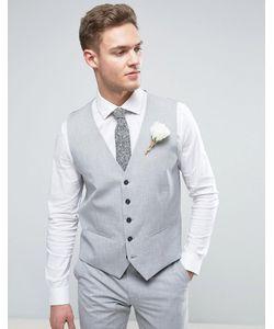 Selected Homme   Облегающий Жилет Wedding