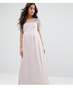 ASOS Maternity | Платье Макси С Кружевными Вставками