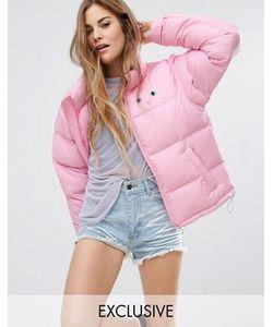 Lazy Oaf | Дутая Куртка С Кошкой