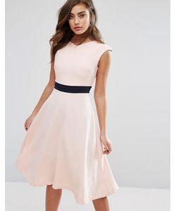 Vesper   Приталенное Платье Миди