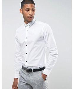 New Look | Рубашка Классического Кроя С Воротником На Пуговицах