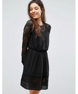 Greylin | Платье С Кружевной Отделкой Aliston
