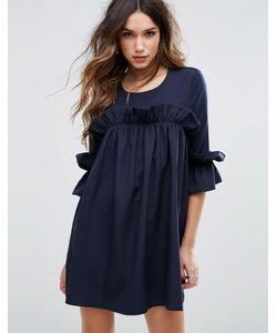 MISSGUIDED   Свободное Платье С Оборками
