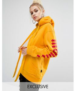 Adolescent Clothing | Oversized Hoodie With Menace Sleeve