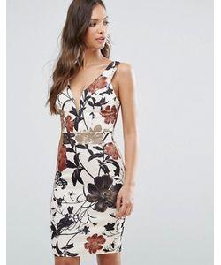 Wal G | Платье С Цветочным Принтом