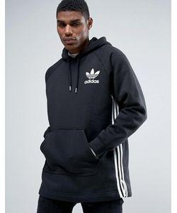 adidas Originals | Черное Удлиненное Худи Bk5881
