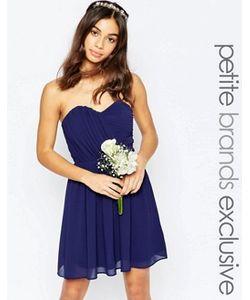 TFNC Petite | Шифоновое Платьебандо Мини Wedding