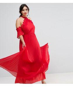 Truly You   Платье-Халтер Макси С Плиссированной Юбкой