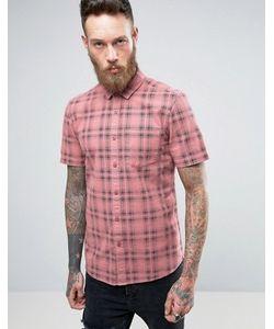 Asos   Рубашка В Клетку Классического Кроя