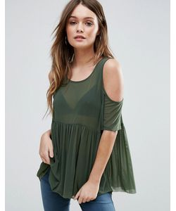 Qed London | Cold Shoulder Top