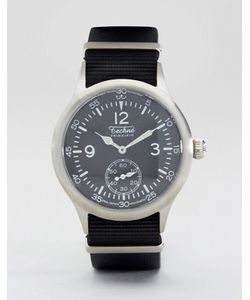 Techne | Часы С Черным Ремешком Merlin Nato