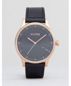 Nixon | Часы С Кожаным Ремешком Station