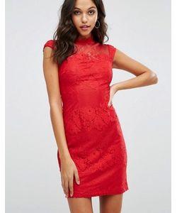 Lipsy | Облегающее Платье С Высоким Воротом