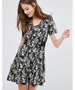Yumi | Чайное Платье С Цветочным Принтом
