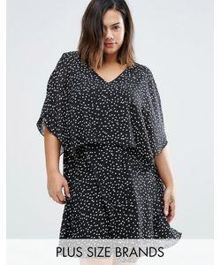 Koko | Многослойное Платье С Открытыми Плечами Plus