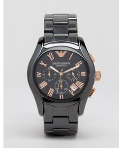 Emporio Armani | Черные Керамические Часы С Хронографом Ar1410