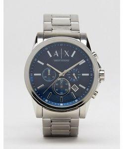 ARMANI EXCHANGE | Часы С Хронографом Из Нержавеющей Стали Ax2509
