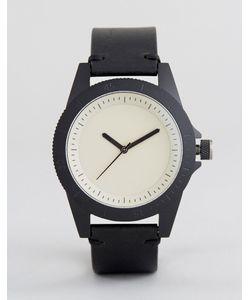 Simple Watch Company | Черные Часы С Кожаным Ремешком Swco Explore