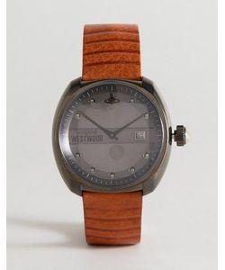 Vivienne Westwood | Часы С Коричневым Кожаным Ремешком Vv080gntn Bermondsey