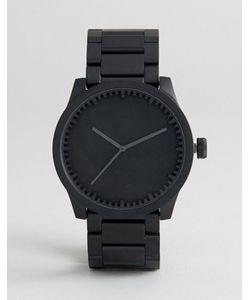 LEFF AMSTERDAM | Черные Часы-Браслет S-Series 42 Мм