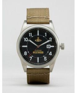 Vivienne Westwood | Часы С Зеленым Кожаным Ремешком