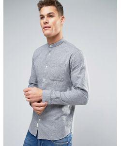 Selected Homme | Фактурная Хлопковая Рубашка Классического Кроя С Воротником На Пуговицах