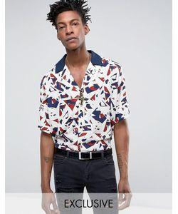 Reclaimed Vintage | Рубашка Классического Кроя С Абстрактным Принтом Inspired