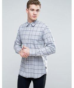 Jack & Jones | Узкая Клетчатая Рубашка С Начесом Originals