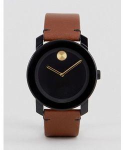 Movado | Часы Со Светло-Коричневым Кожаным Ремешком Bold 3600305