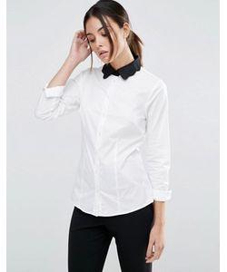 Asos   Рубашка С Контрастным Воротником Scallop