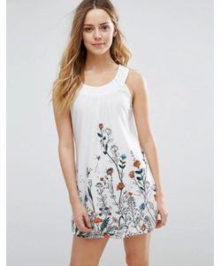 Jasmine | Цельнокройное Платье С Цветочным Принтом