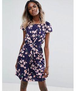 Yumi | Платье С Цветочным Принтом И Сборками