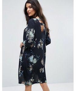 Y.A.S. | Платье С Открытой Спиной И Цветочным Принтом Y.A.S
