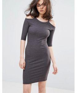 NYTT | Облегающее Платье С Открытыми Плечами