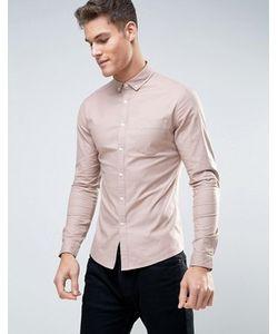 Asos | Оксфордская Рубашка Скинни На Каждый День