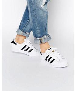 Adidas | Черно Кроссовки Originals Superstar